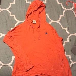 Peach colored long sleeve with good